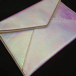 Rebecca Minkoff- limited edition iridescent clutch